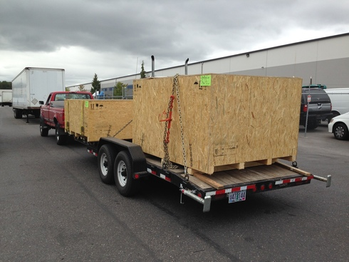 Remise en état des équipements forestiers Werner pour 406. Wooden10