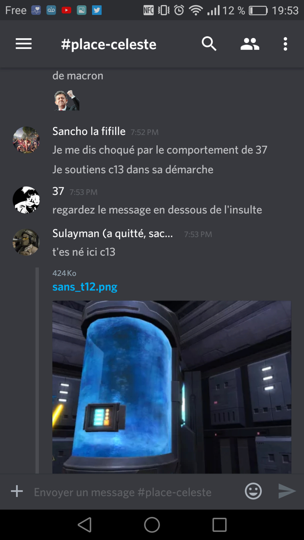[plainte] insulte de 37 Screen12