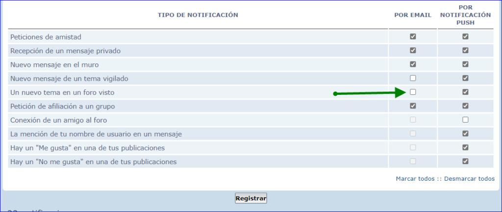 Notificación de tema nuevo  Ts210