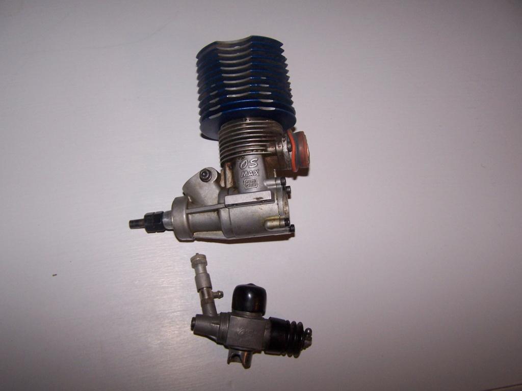 [ECHANGE] moteur os max 21 contre pièces crawler électrique 100_7613