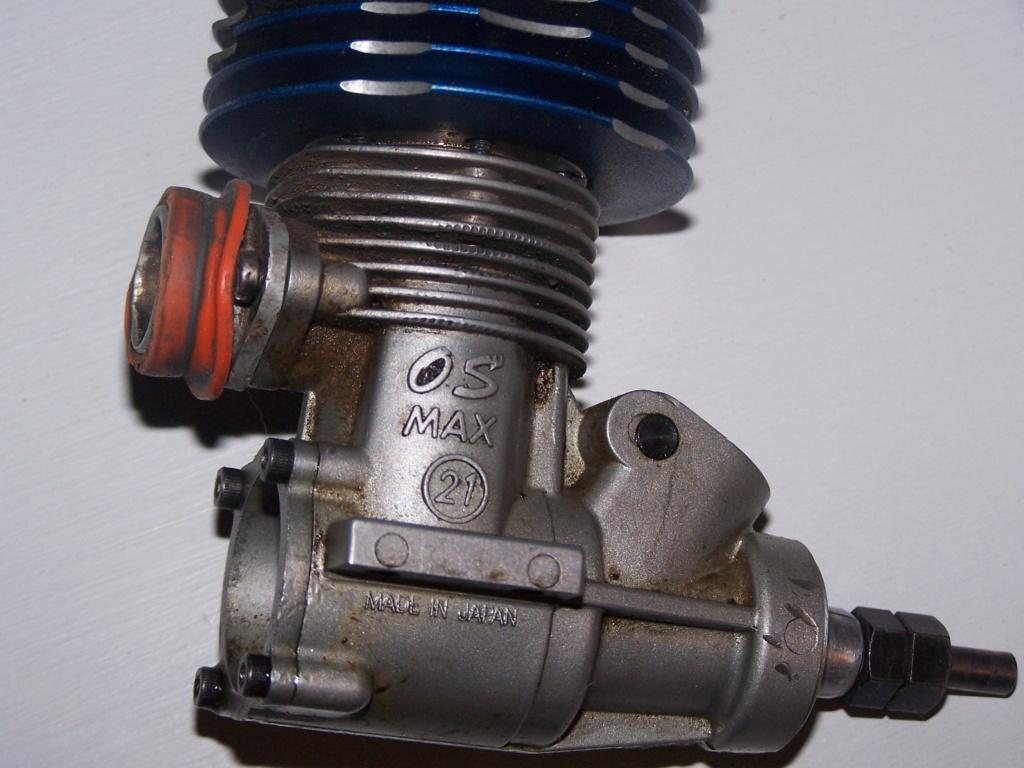 [ECHANGE] moteur os max 21 contre pièces crawler électrique 100_7614