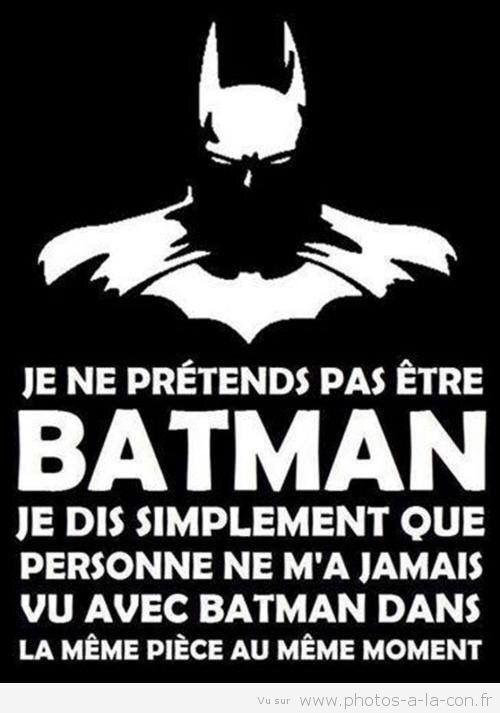 Peut-on vraiment se dire zèbre si on n'a pas été testé ? - Page 2 Batman10