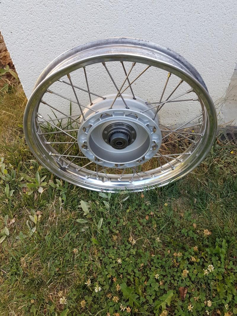 Restaurer une roue de R27 20180917
