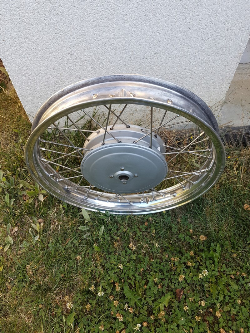 Restaurer une roue de R27 20180918