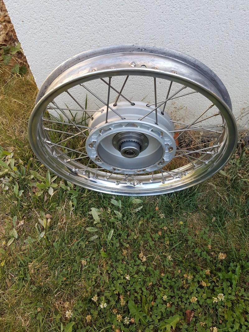 Restaurer une roue de R27 20180919