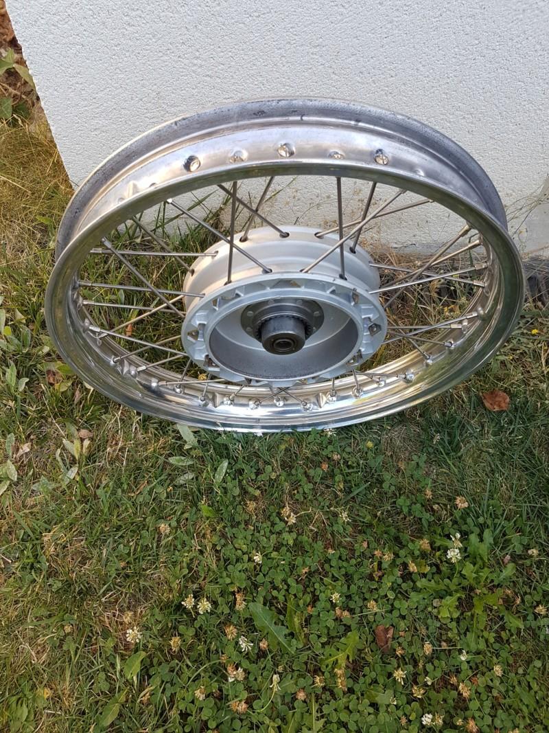 Restaurer une roue de R27 20180922