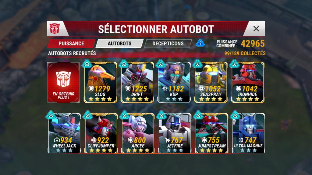 Mes Bots du 1 au 4☆ Screen11