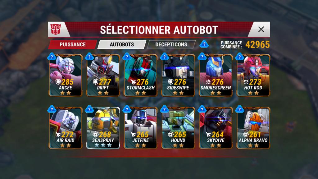 Mes Bots du 1 au 4☆ Screen16
