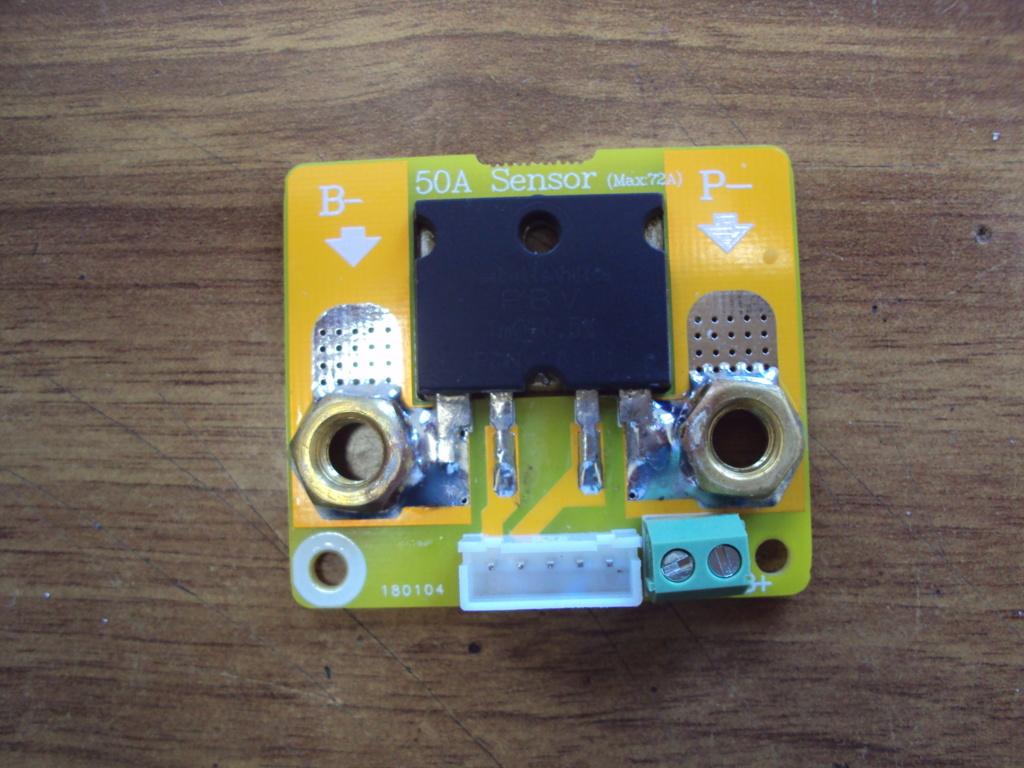 Proyecto de integración de una nueva batería. Dsc02011