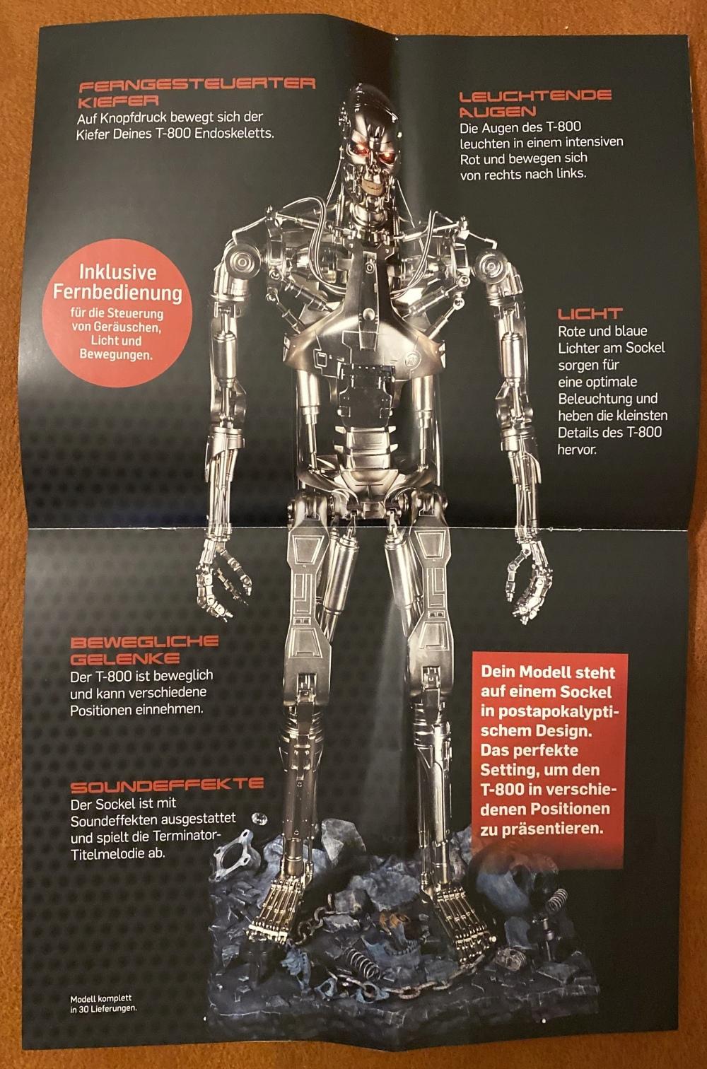 Baubericht Terminator T-800 von Hachette T-800-10