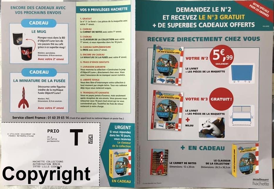 """Tim & Struppi - der Jeep aus """"Reiseziel Mond"""" 1:8 von Hachette - Test (?) France Tintin12"""
