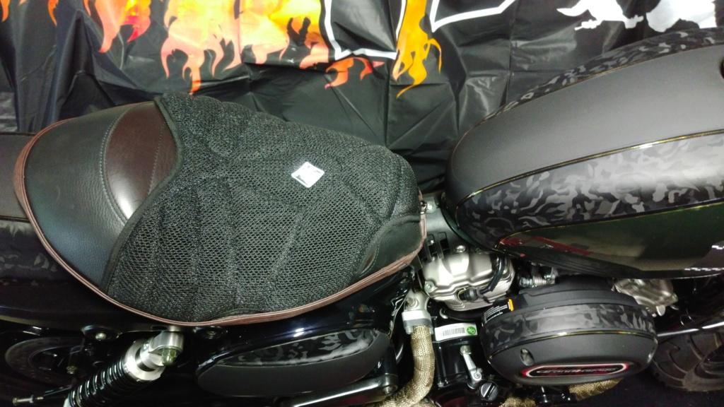 je teste le COOL FRESH SEAT COVER Moto_046