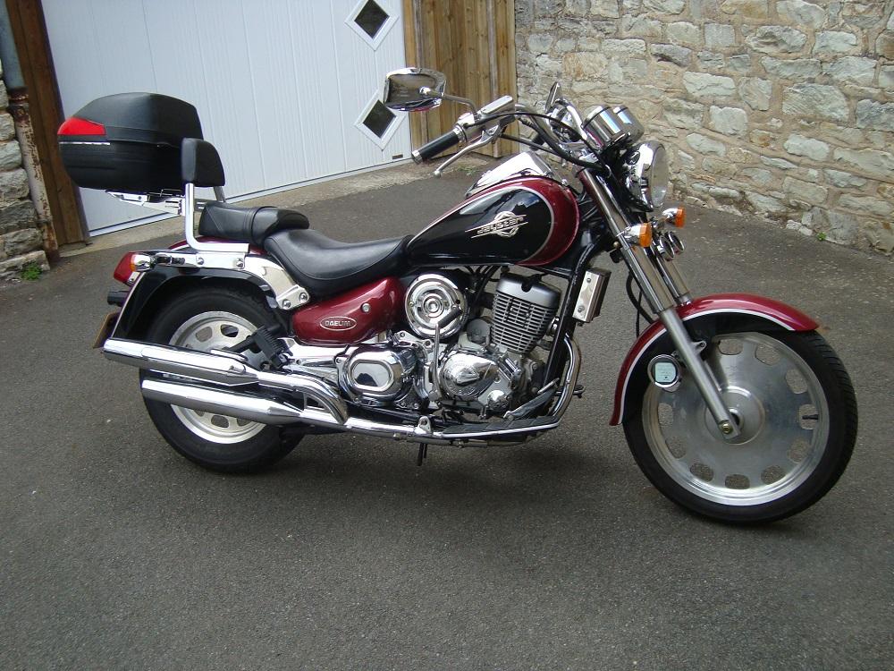 Mes motos à moi que j'ai eu... Daysta10
