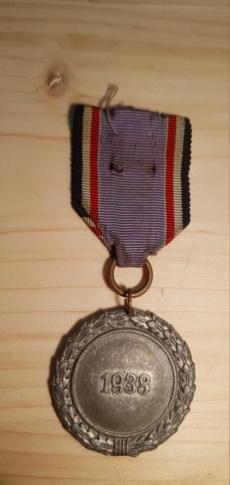 Médaille luftschutz  20200573