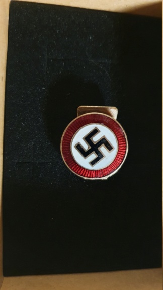 badge sympathisant nsdap version mini 20201110