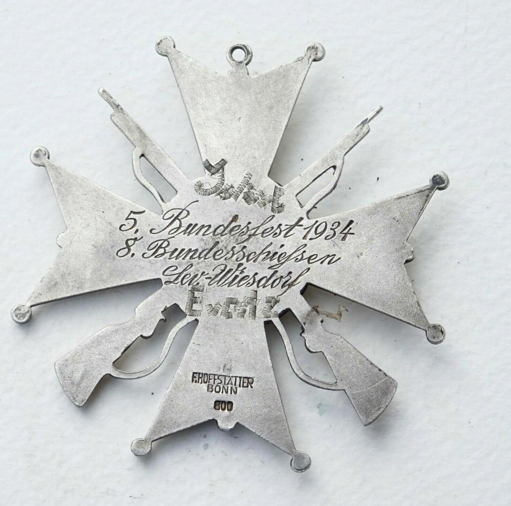 Identification médaille allemande 1934 Rare-m11