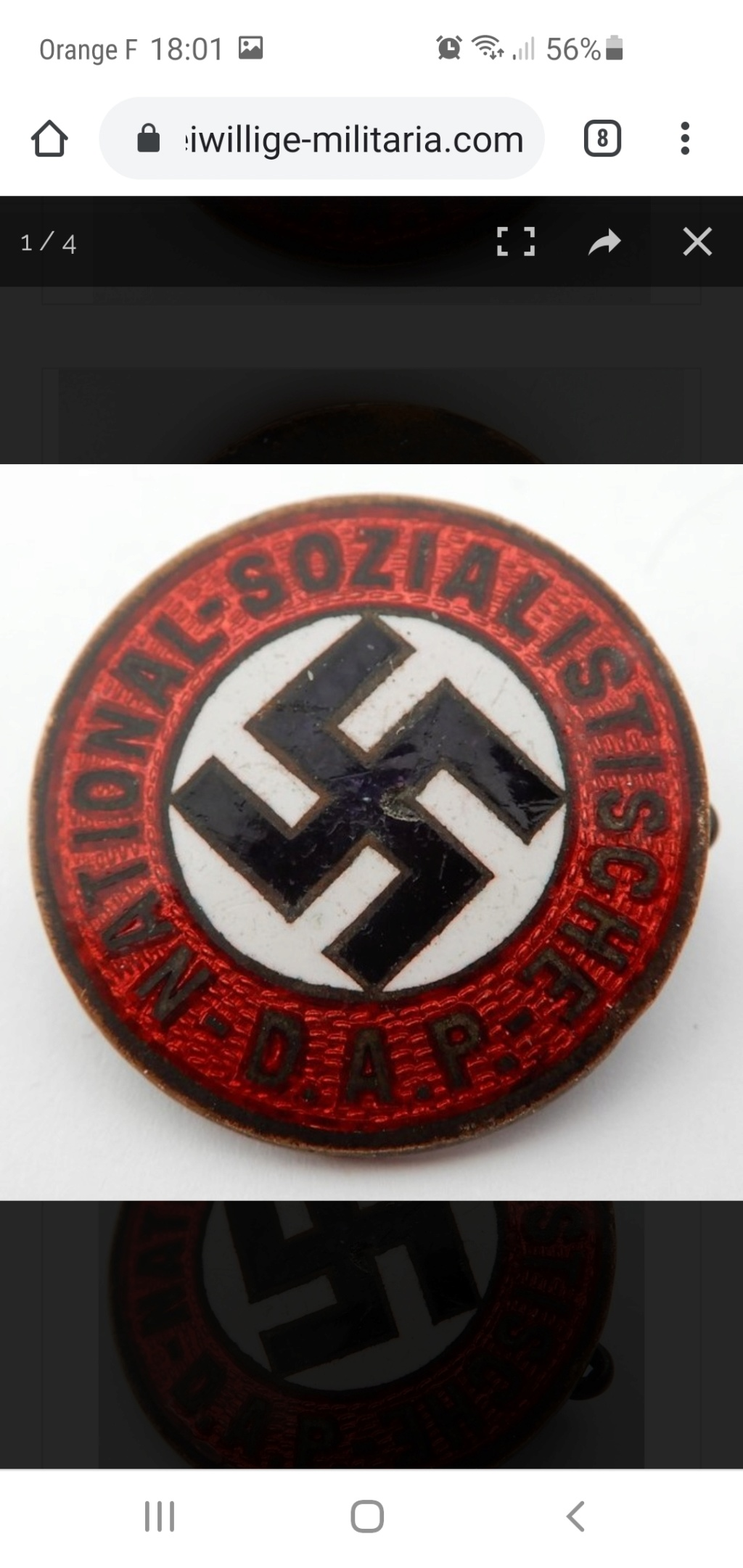 authentification badge Westmark Screen17