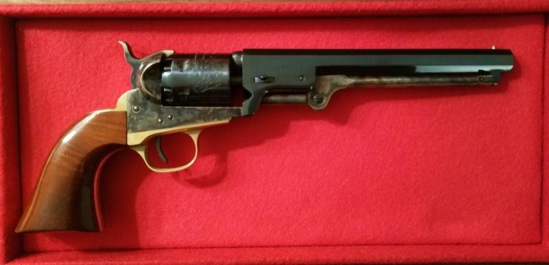VENDU !! Splendide Colt Navy 1851 Blue Charcoal - Uberti - Neuf 20181213