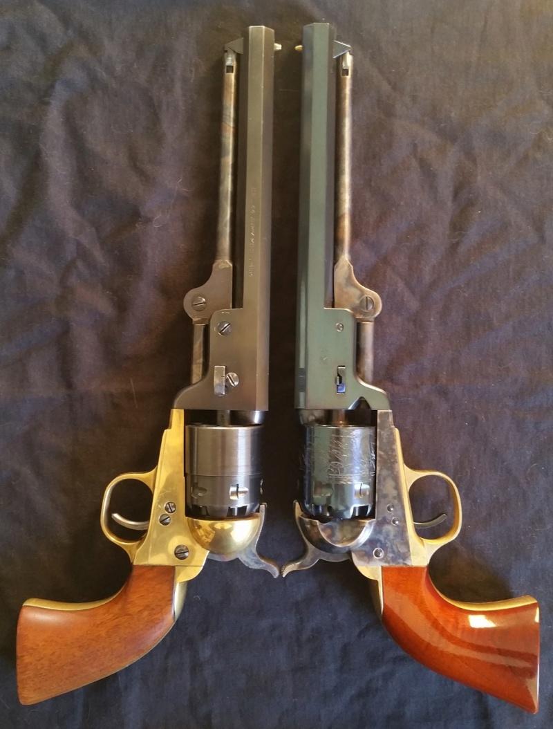 VENDU !! Splendide Colt Navy 1851 Blue Charcoal - Uberti - Neuf 20181214