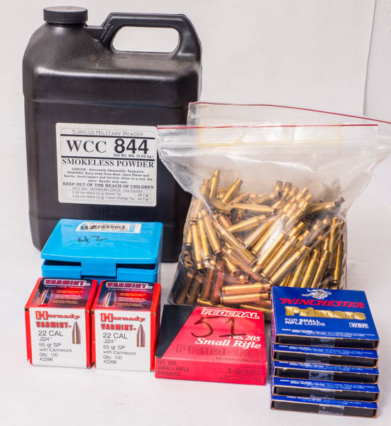 Reloading Components .223, .45ACP, Pick up Minneapolis only P1070922