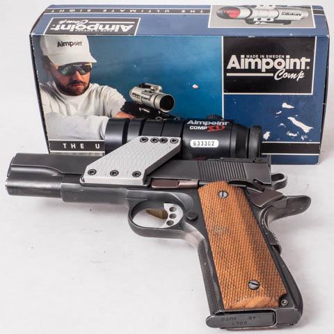 David Sams 1911 .45ACP Wad Gun P1070927