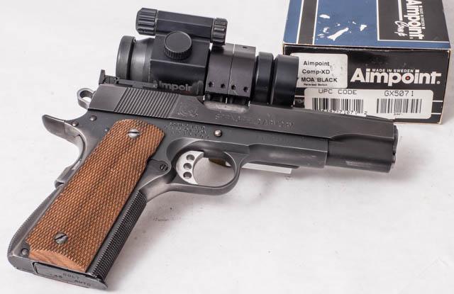 David Sams 1911 .45ACP Wad Gun P1070928