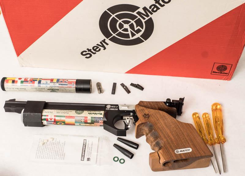 Steyr LP-1 Air Pistol P1080027