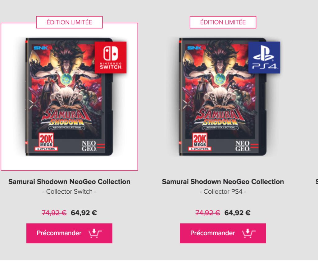 Samurai Shodown Neo Geo Collection (Pix n love) Captur11