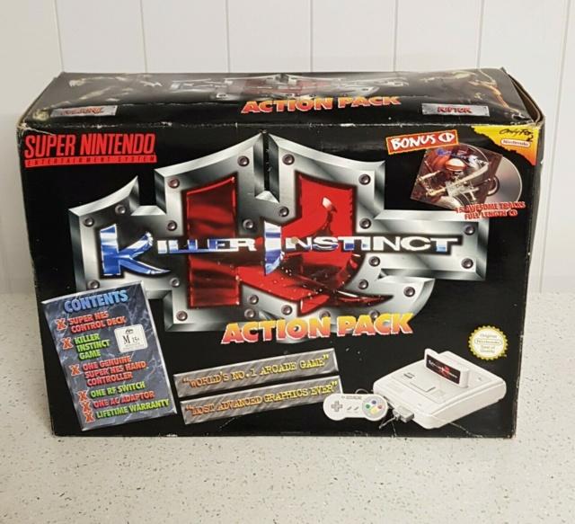 Pack spécial Killer Instinct SNES S-l16015