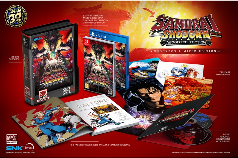Samurai Shodown Neo Geo Collection (Pix n love) Samura10