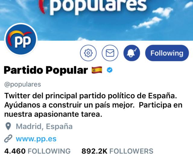 @populares | Twitter Oficial del PP y sus principales políticos 530b9910
