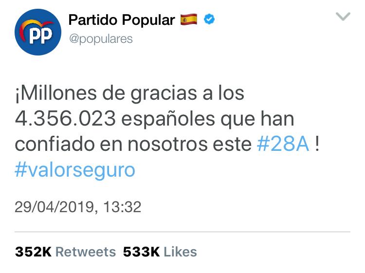 @populares | Twitter Oficial del PP y sus principales políticos E63ca010