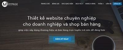 Dịch vụ thiết kế web chuyên nghiệp theo yêu cầu cùng MyPage Web310