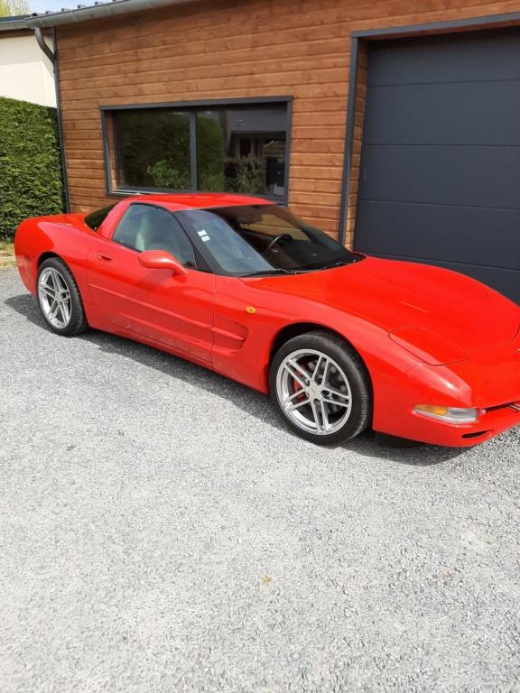 Corvette c5 red 20200412