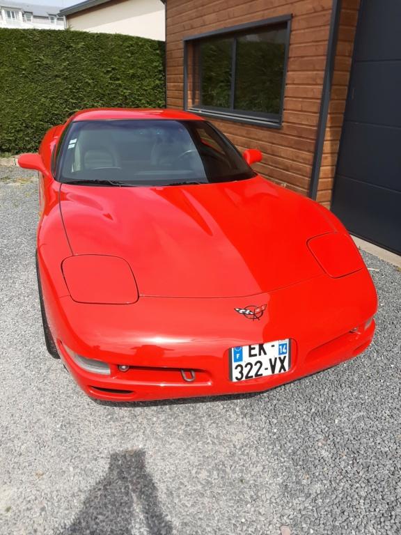 Corvette c5 red 20200413