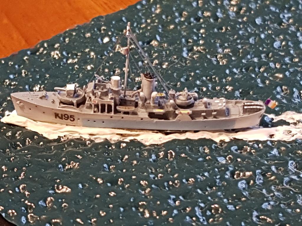 corvette commandant Drogou 1944 1/700 20190635
