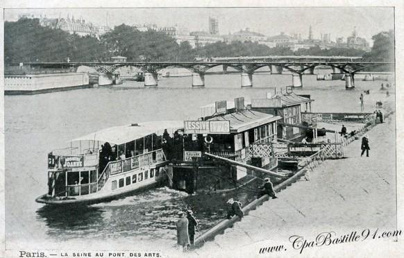 vaporetto panart/mantua photos et montage 1/28 kit n°730 bois Paris-10