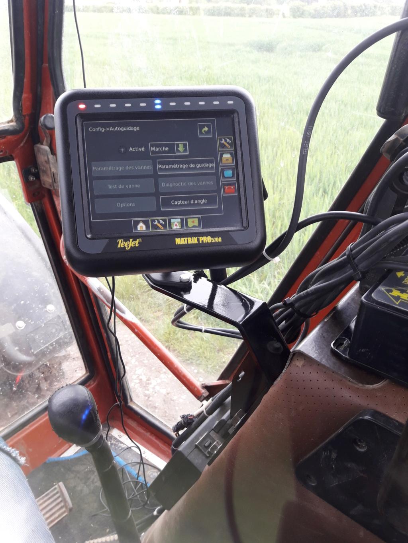 Autoguidage via matrix 570G / unipilot et antenne gps. (passage en RTK et photos du montage) - Page 2 20190510