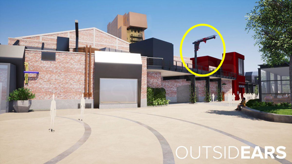 [Parc Walt Disney Studios] Attraction Spider-Man (202?) Outsid10