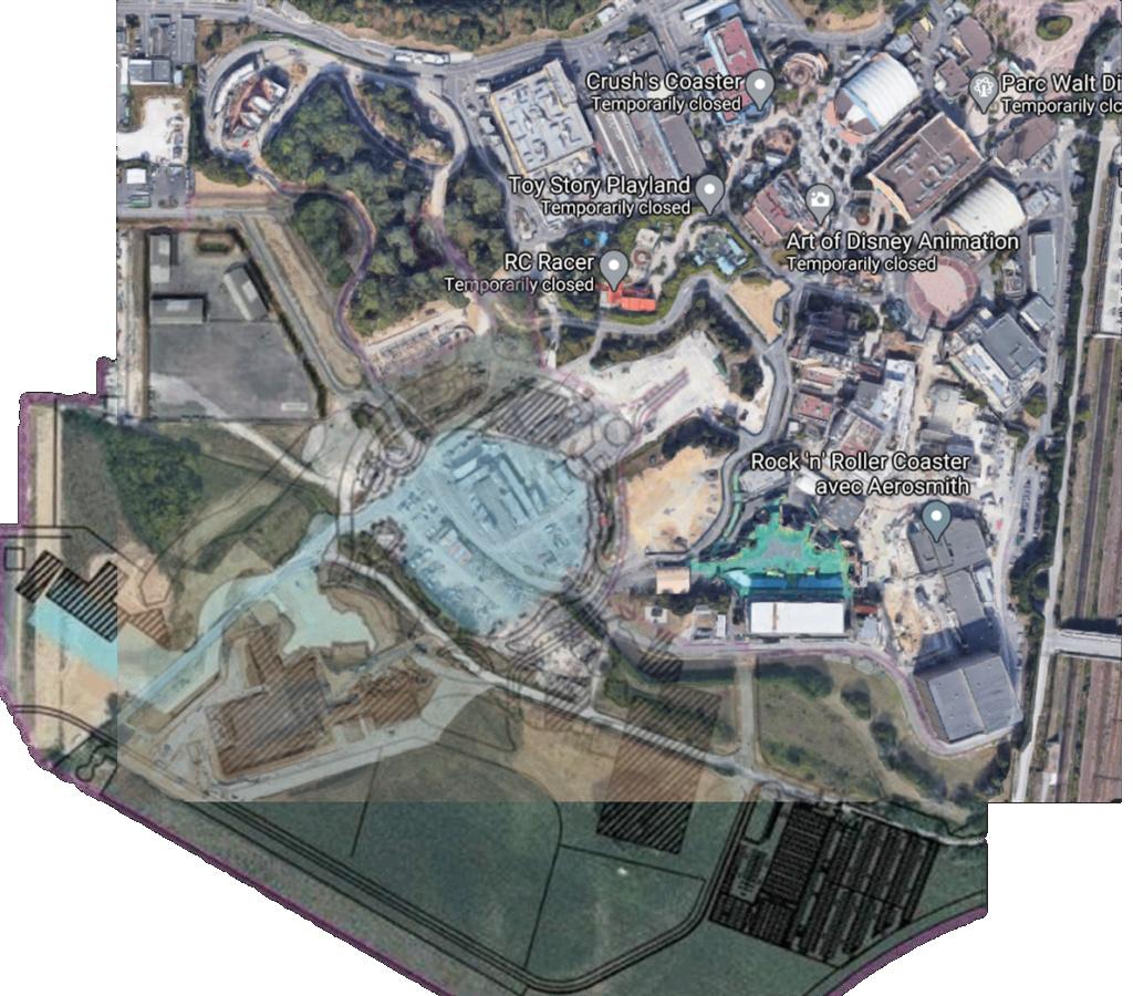 Extension du Parc Walt Disney Studios avec nouvelles zones autour d'un lac (2022-2025) - Page 40 Pictur15
