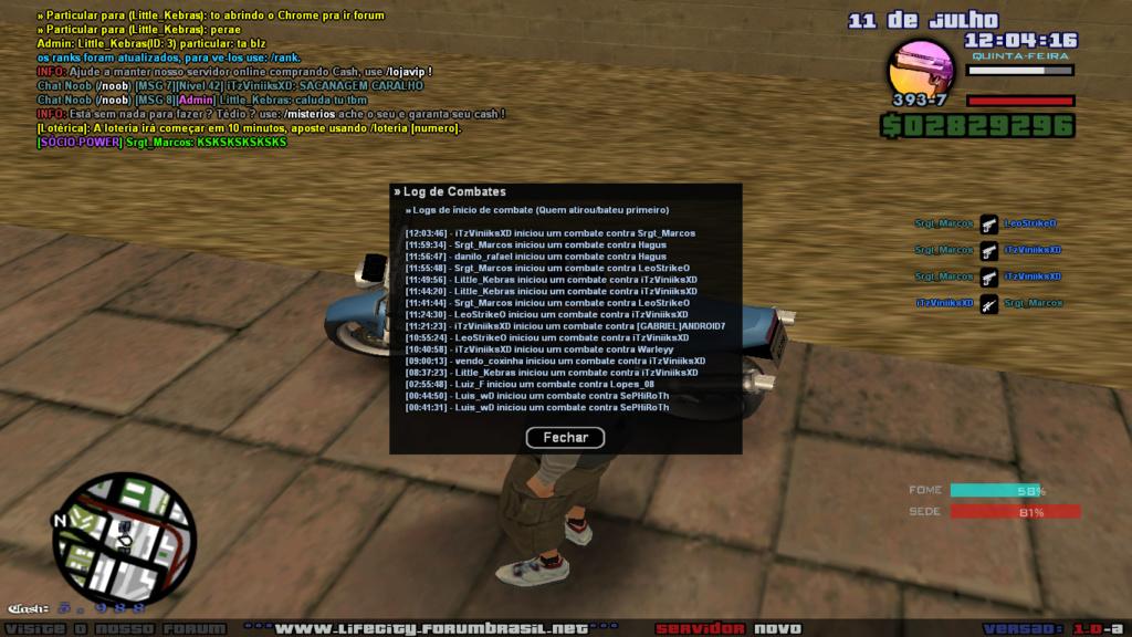 Um membro da ROTA cometeu DM e abuso de bug com Desert Sa-mp-22