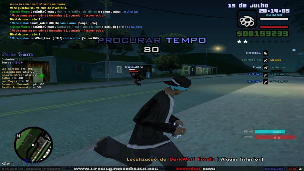 Assassino subindo Morro Sa-mp-36
