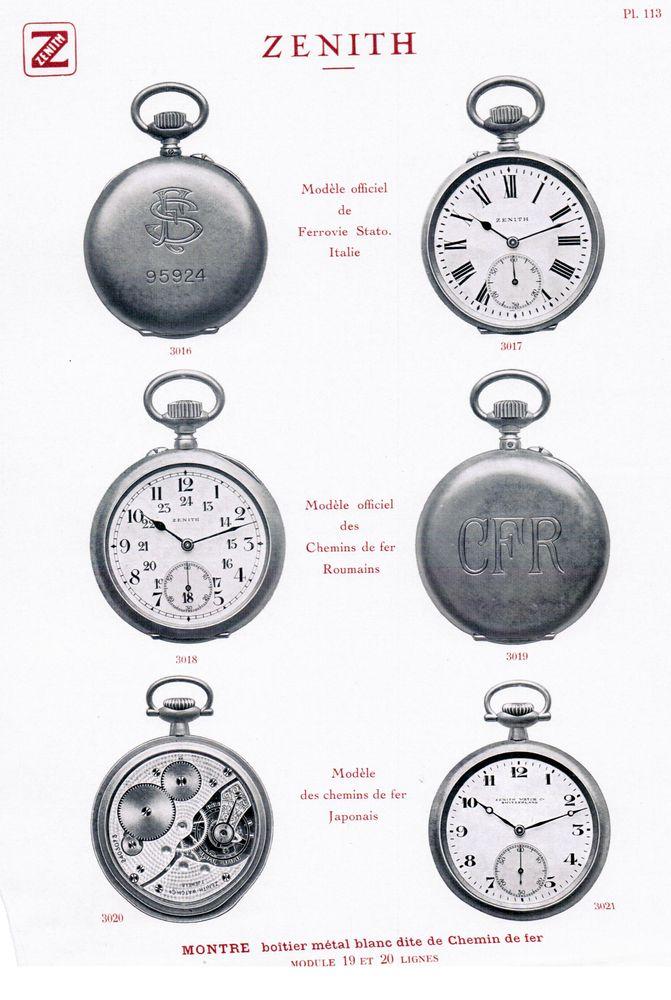 L'histoire des montres de chemins de fers - Page 7 Eisenb10
