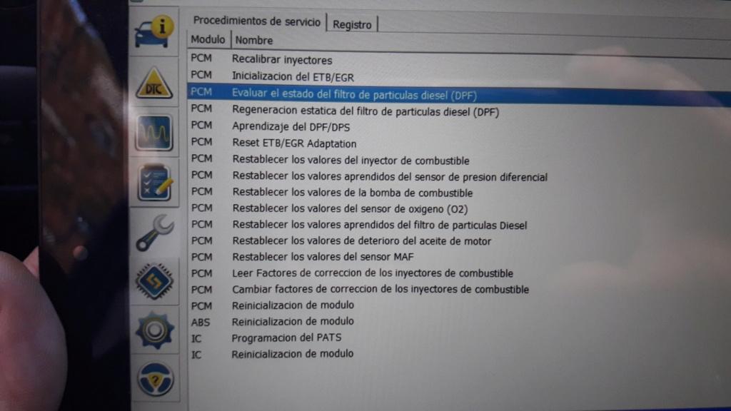 Valvula EGR nueva y sigue la luz de averia 20171210