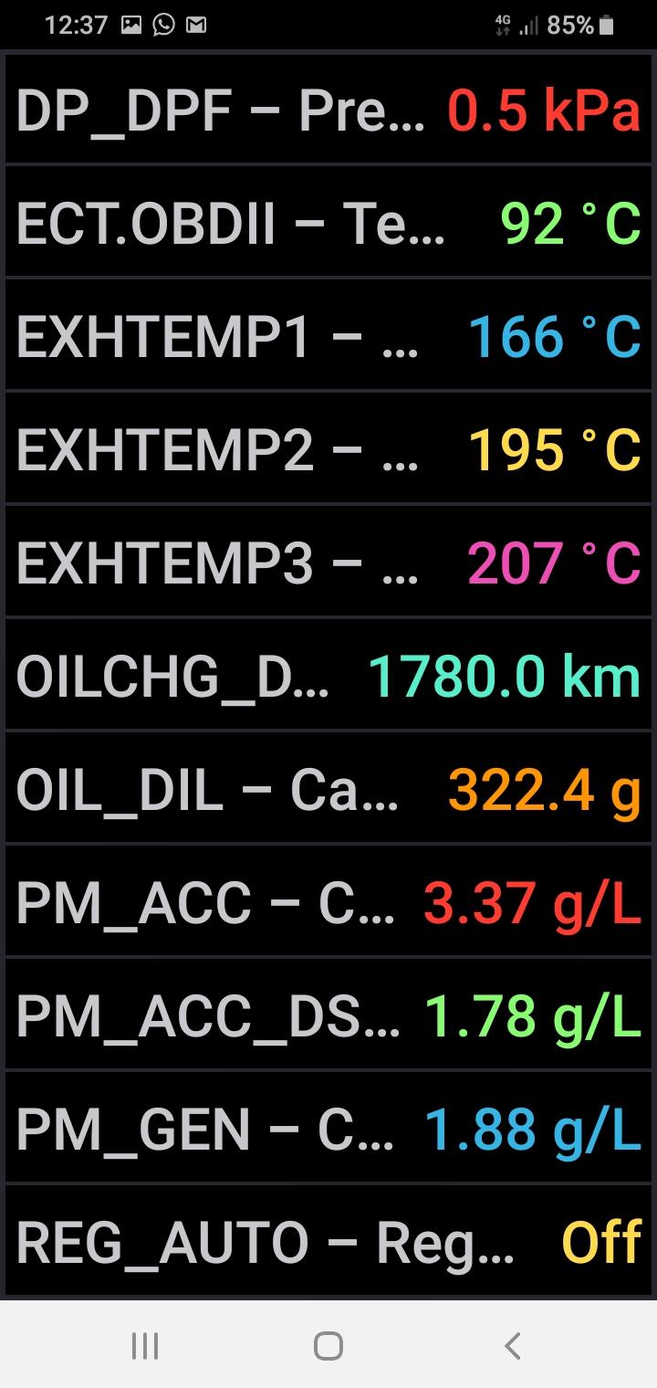 Mi experiencia sobre el aditivo protector del Filtro de Partículas diésel Liqui Moly 2146 Screen54