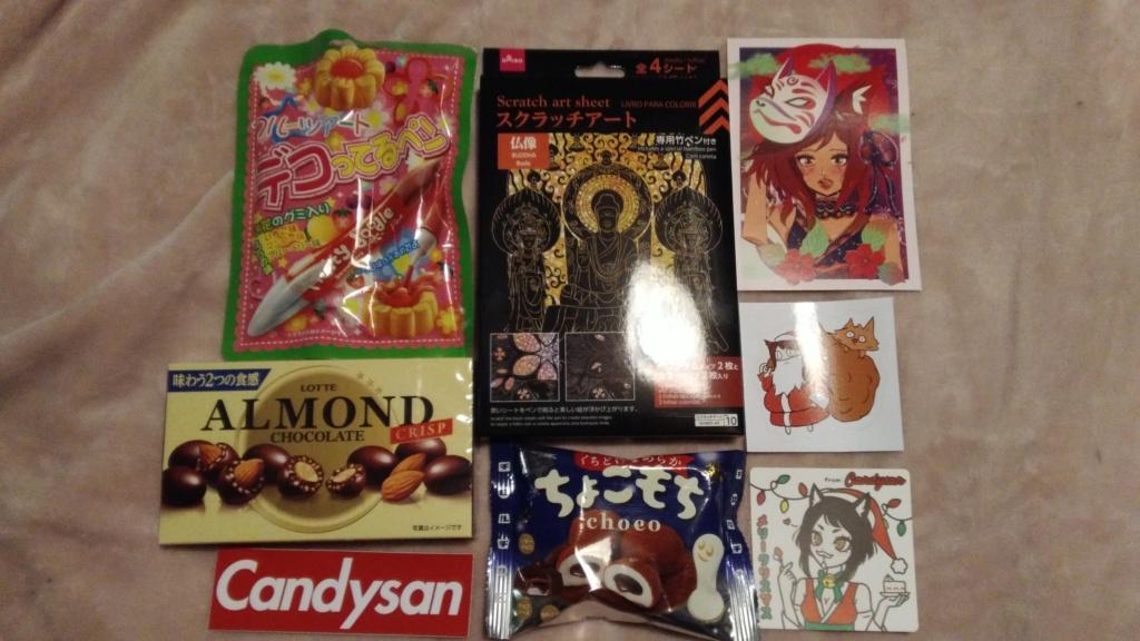 [Snacks & Bonbons Japonais] CandysanBox P_201935