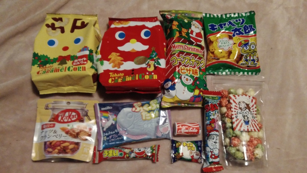 [Snacks & Bonbons Japonais] CandysanBox P_201936