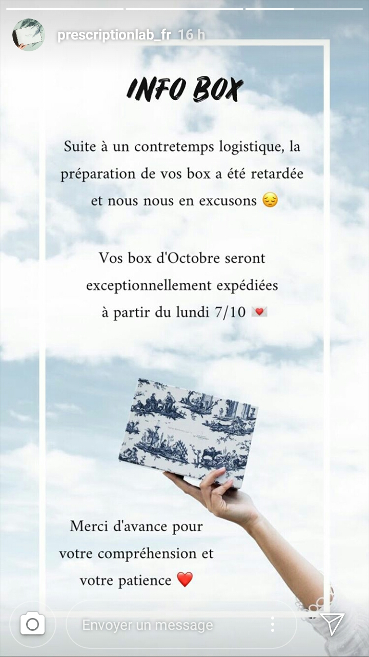 Prescription Lab - Octobre 2019 Screen10