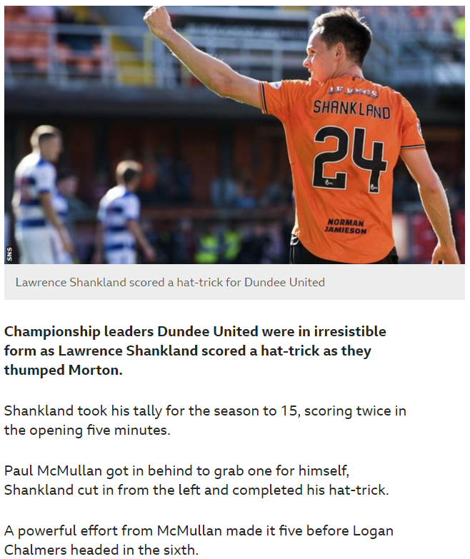 DUNDEE UNITED v MORTON - Page 4 Screen18
