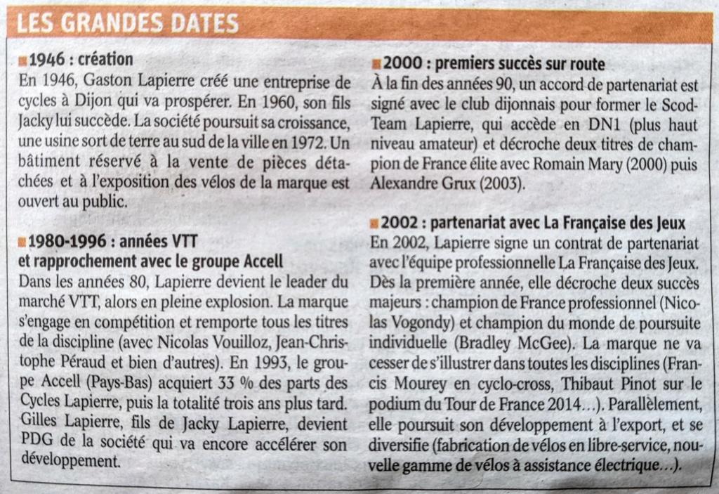 Cycles Lapierre : les 75 ans d'une marque prospère. Pxl_2069